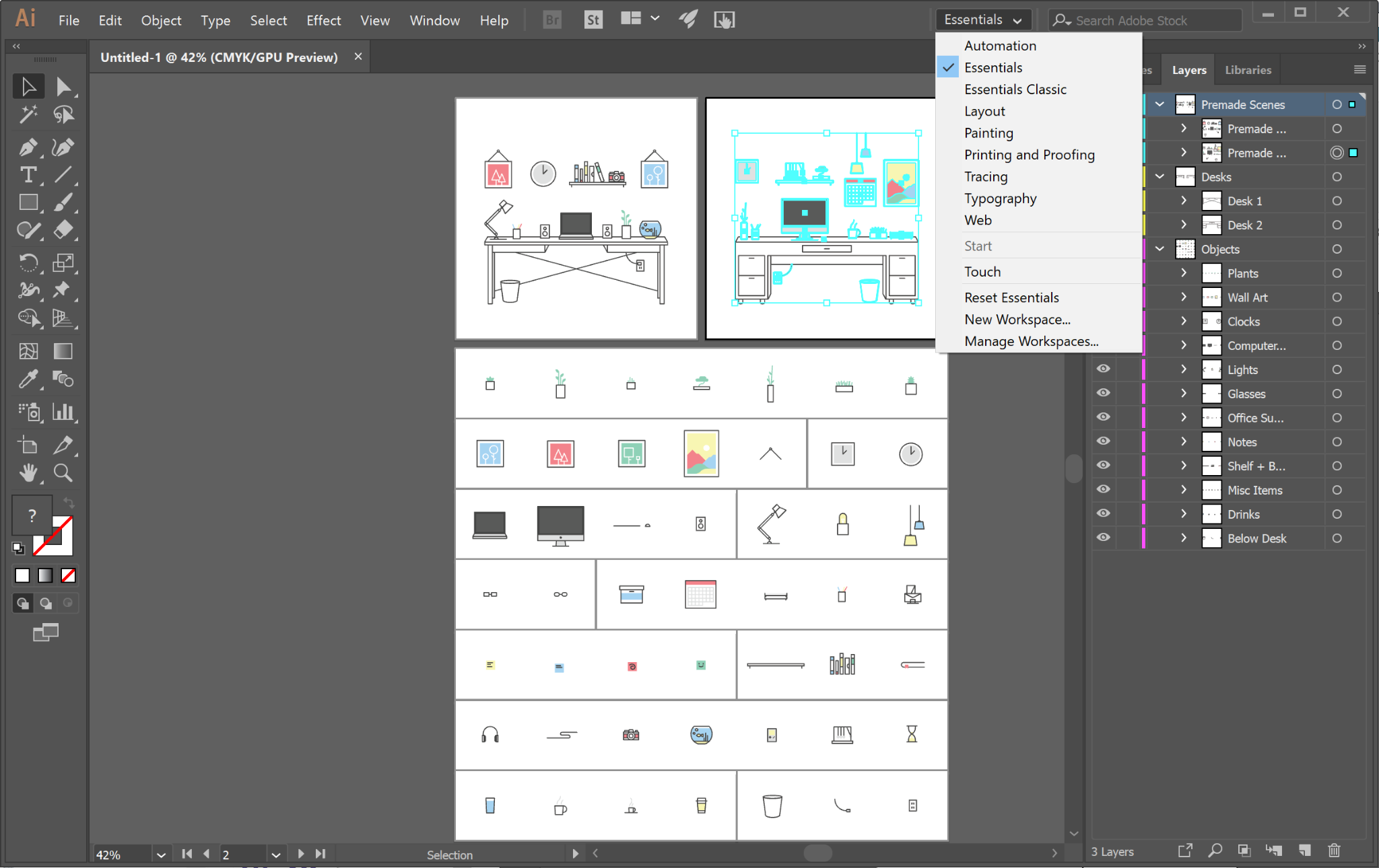 Adobe Illustrator software