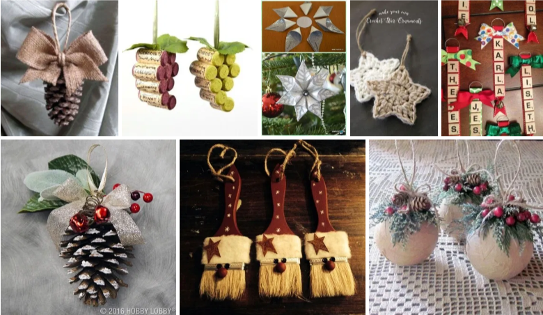 christmas tree ornaments, a craft that makes money