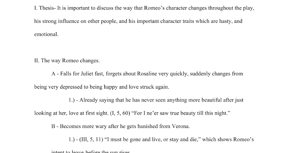 romeo and juliet with thesis on disobedience More on romeo and juliet acts read our detailed act by act breakdown to get an understanding of the plot, and then look at some exemplar essays.