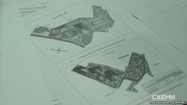 У Вечерського збереглися передескізні проекти щодо Олексіївського люнету