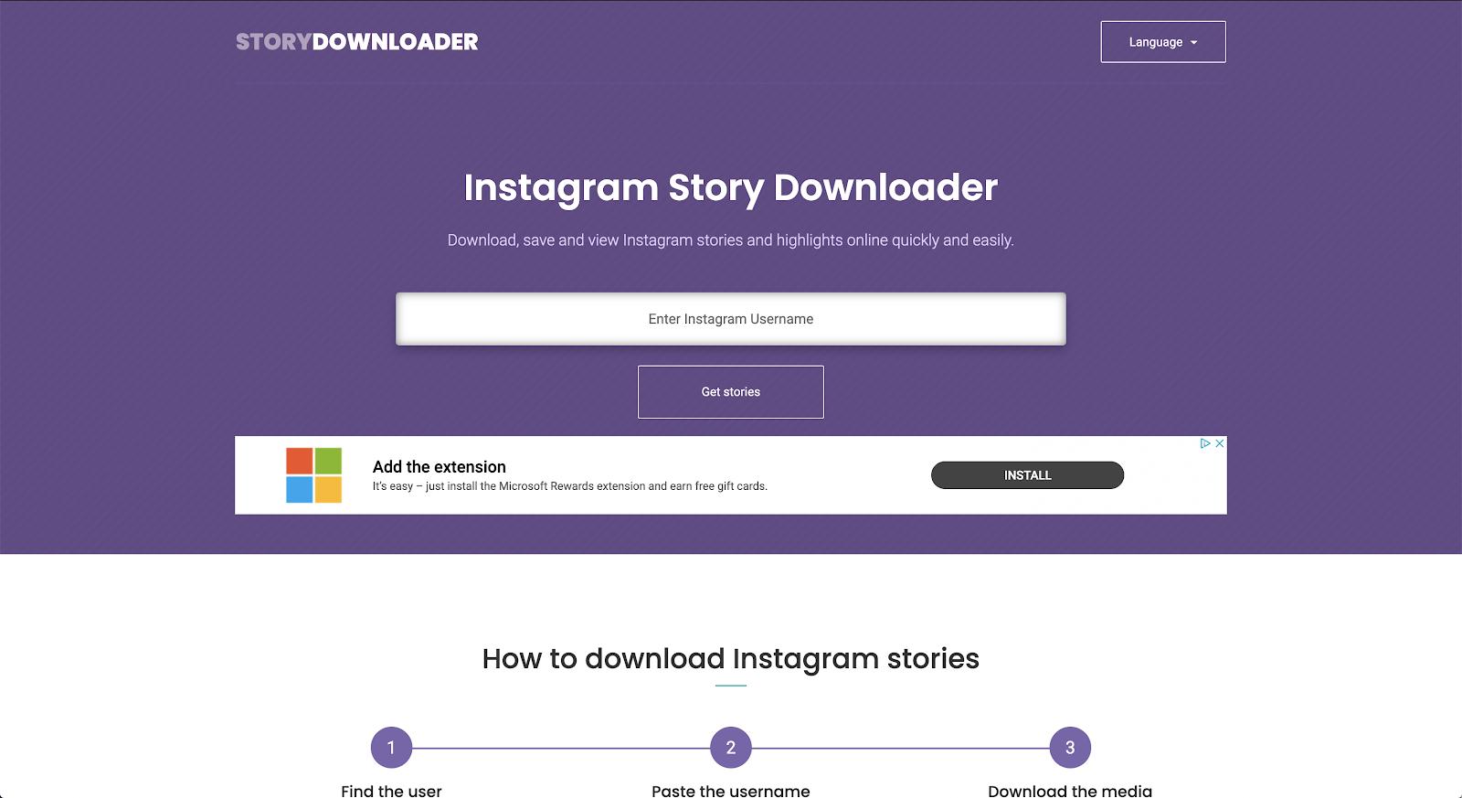 download instagram stories with Instagram story downloader