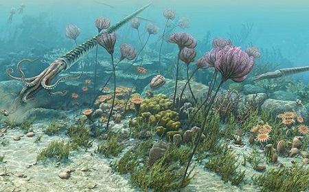 Bencana Dahsyat Ilustrasi Ordovisium