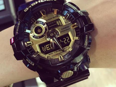 Đồng hồ Casio G-Shock GA-710GB-1ADR chính hãng