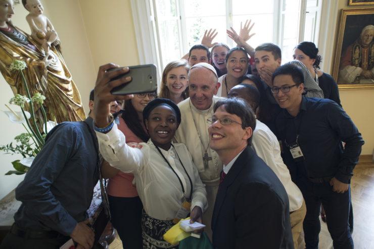 SS. Papa Francesco - Viaggio Polonia GMG-Pranzo con i giovani30-07-2016@Servizio Fotografico - L'Osservatore Romano