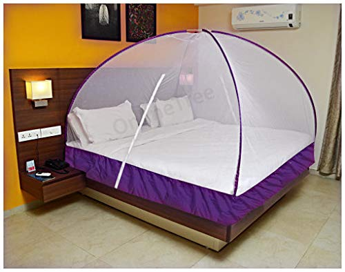 OnlineTree Double Bed Foldable Mosquito Net