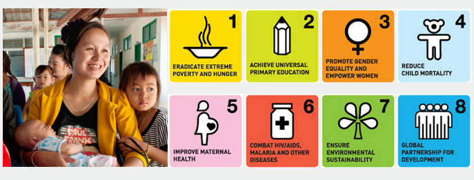 ミレニアム開発目標(MDGs)達成期限まで1000日カウントダウン(1)