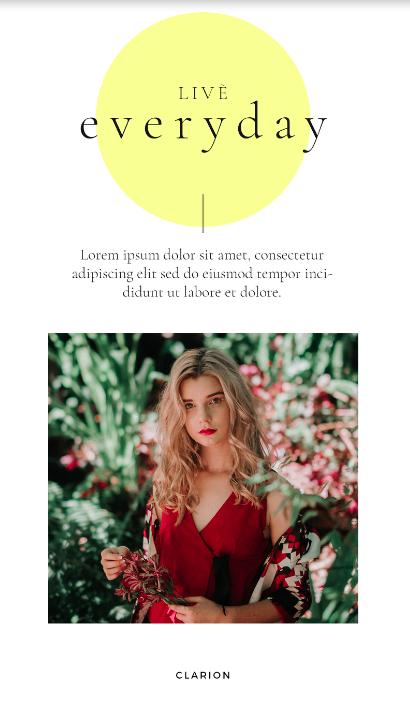Graphics Eggs Live Everyday Instagram Stories Templates