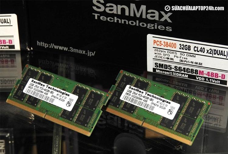 RAM DDR5 đầu tiên từ SanMax có thể được mở bán vào tháng tới