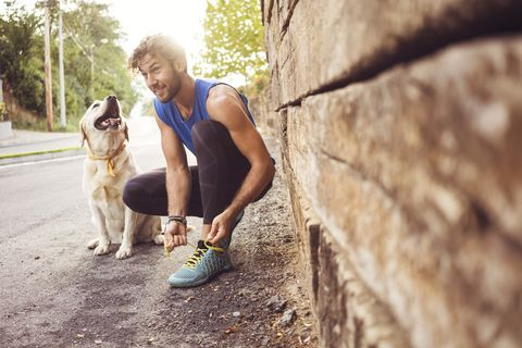 Jogging with my best friend