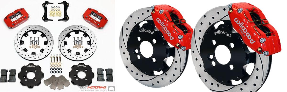 Complete Brake Disc//Rotor /& Pad /& Sensors kit F /& R Mini Cooper Country Paceman