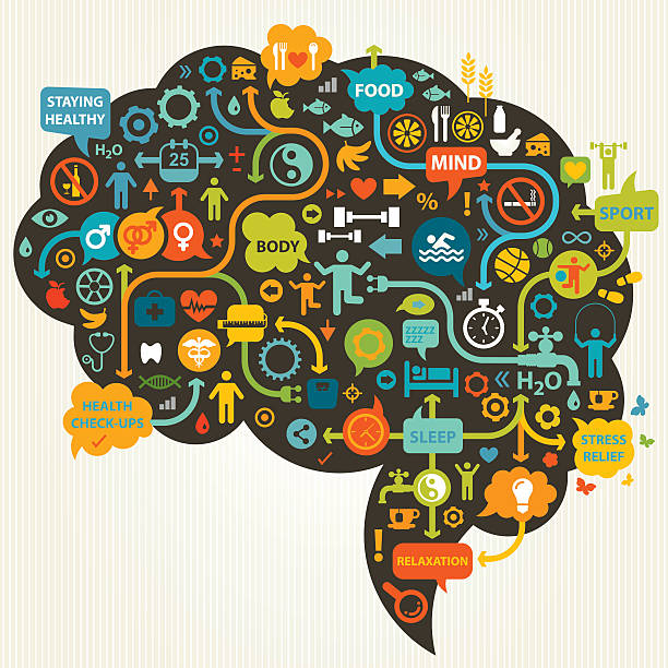 psychological impact of being organized in human brain