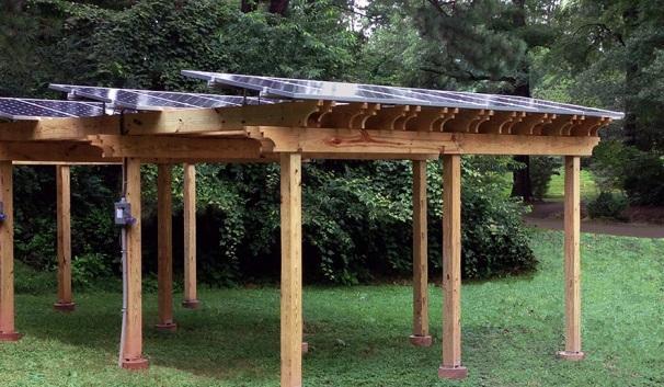 Αποτέλεσμα εικόνας για pergola PV installation