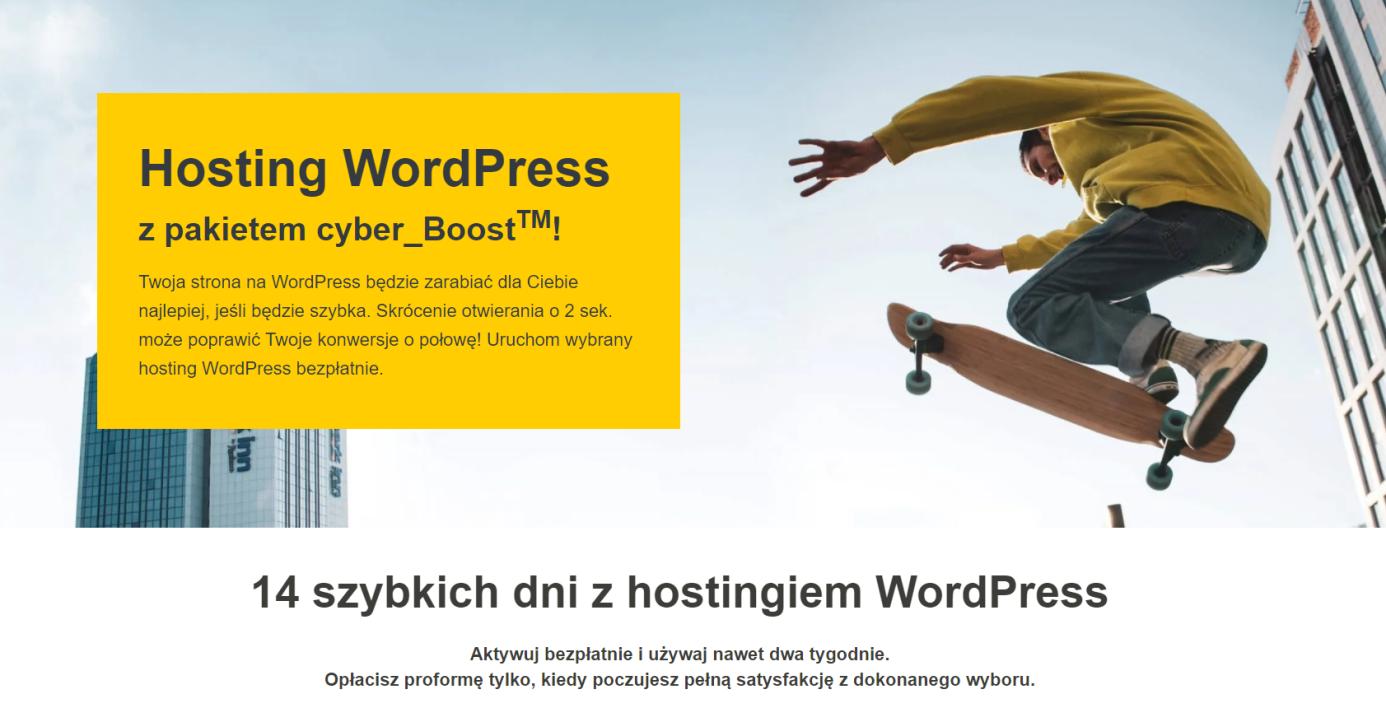 hosting wordpress cyberfolks