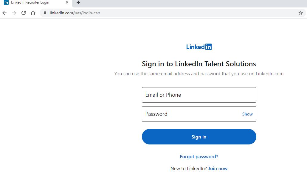 linkedin recruiter lite account