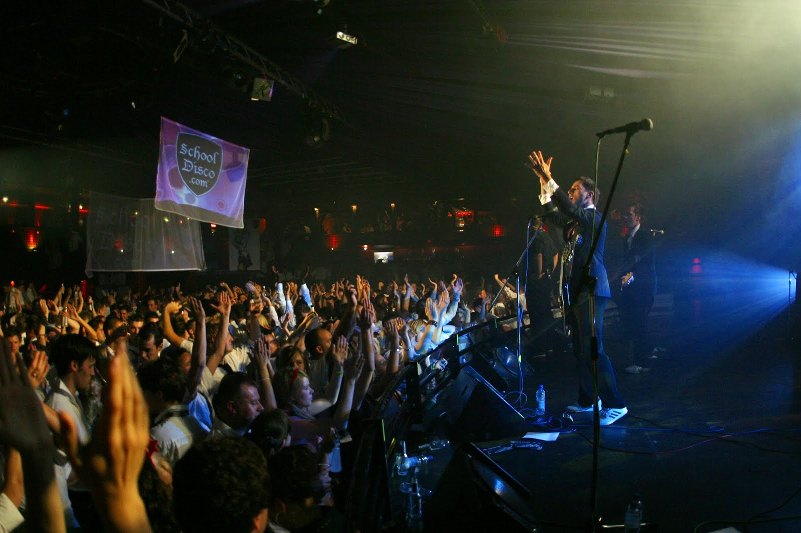 Jamie and the first class live.JPG