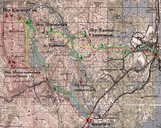Отчет о лыжном походе 1 категории сложности по Российской Лапландии