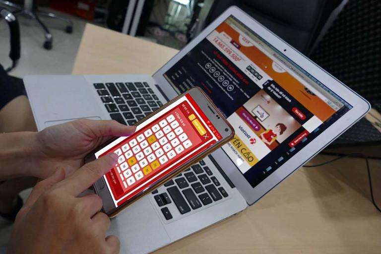 Chọn mua xổ số online