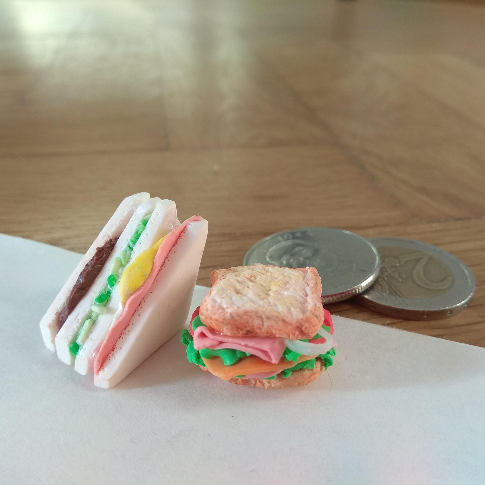 small food made out of clay