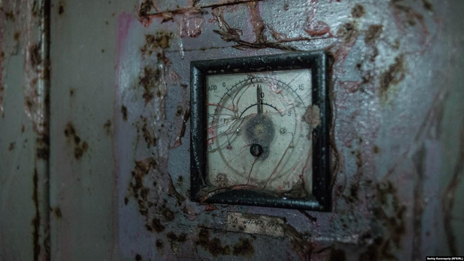 Панель управления четвертым энергоблоком Чернобыльской АЭС