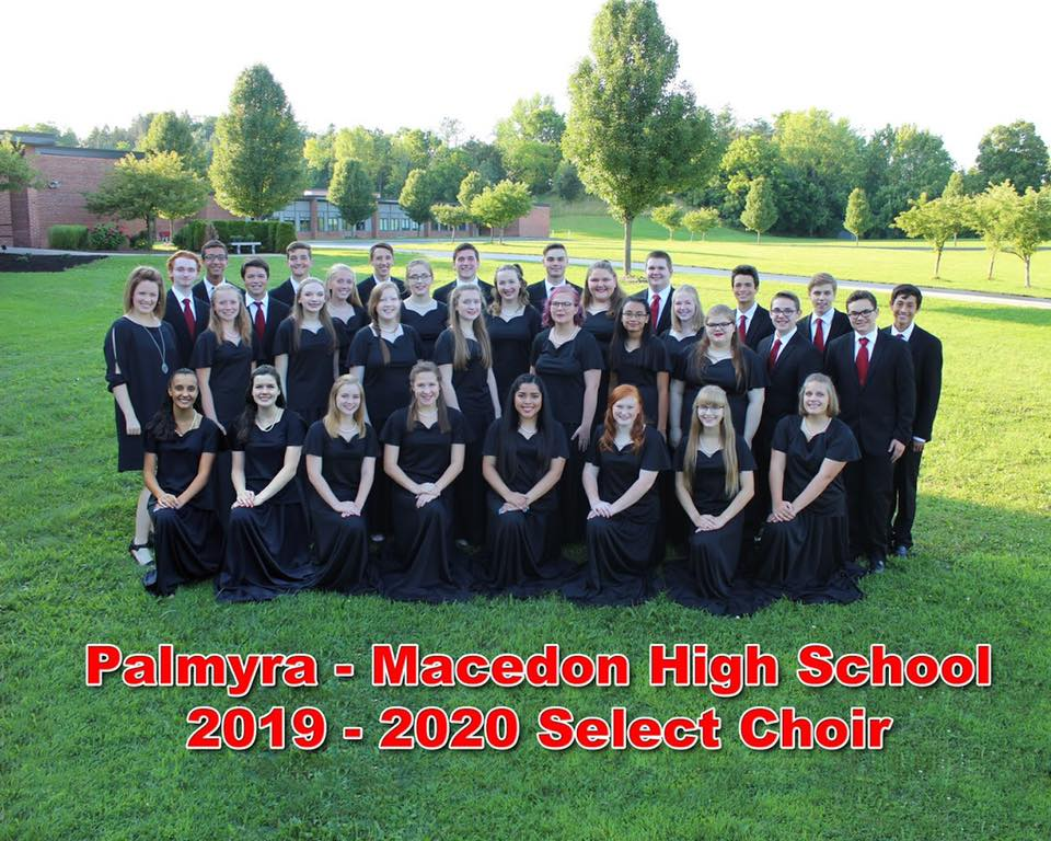 Pal-Mac HS 2019-2020 Select Choir