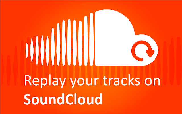 Sound Cloud Replay Button chrome extension