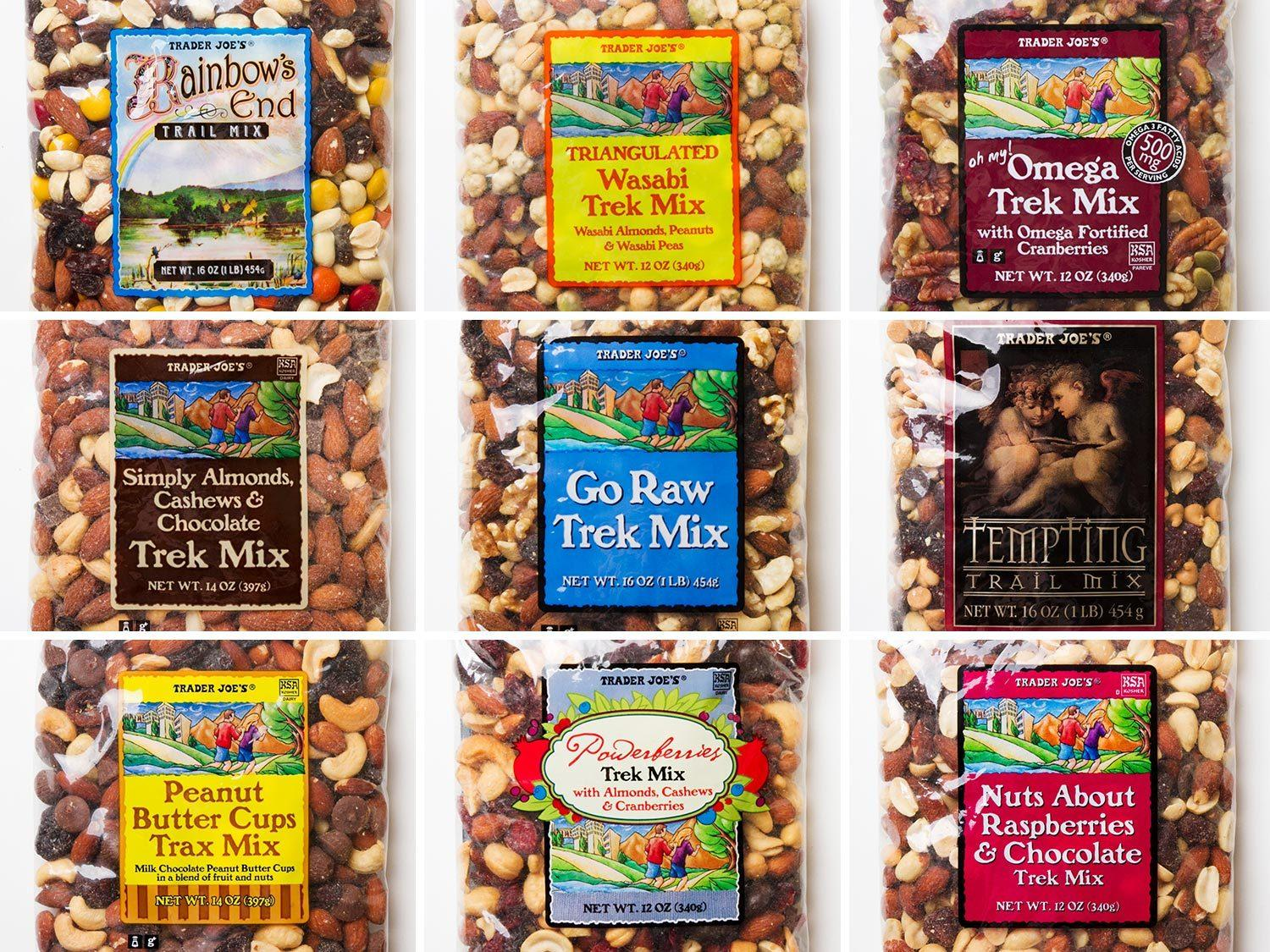 We Try All 18 Kinds of Trader Joe's Trail Mix | Serious Eats