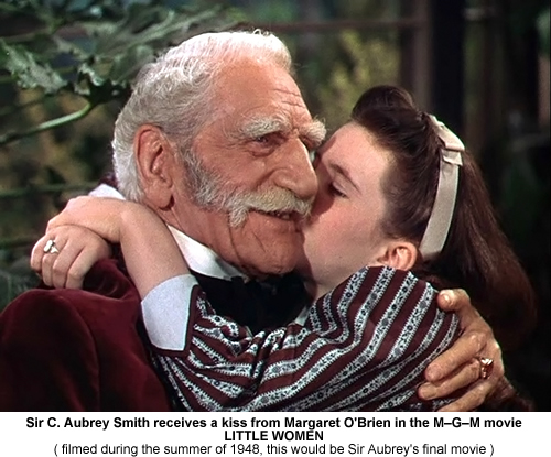 Sir C Aubrey Smith in Little Women.