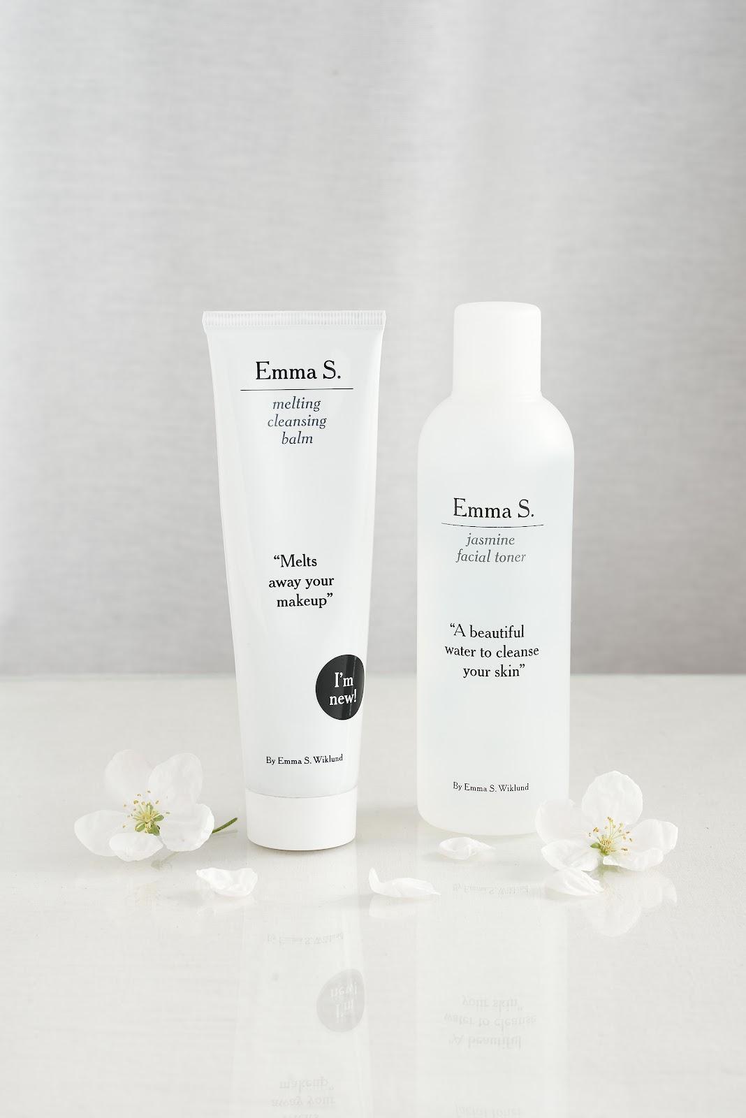 Emma S. hudvårdsprodukter