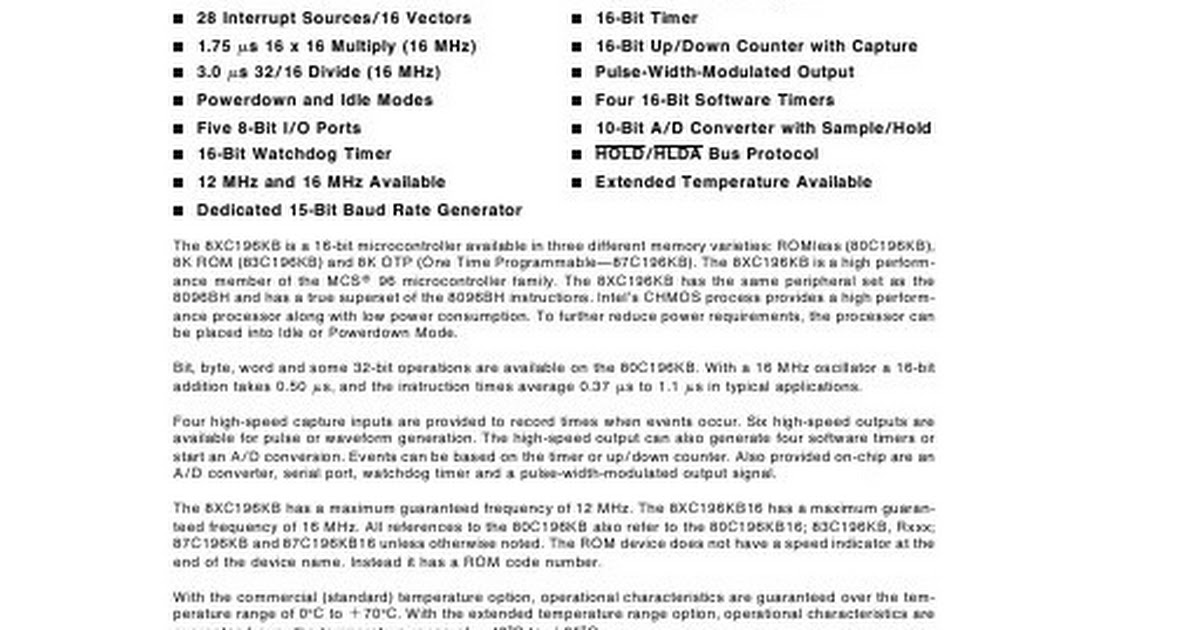 80C196KB pdf - Google Drive