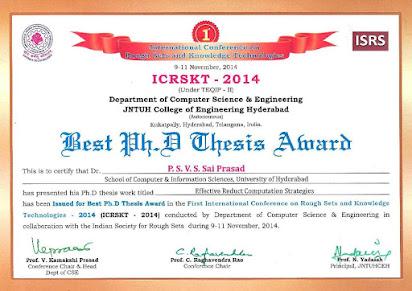 best phd thesis