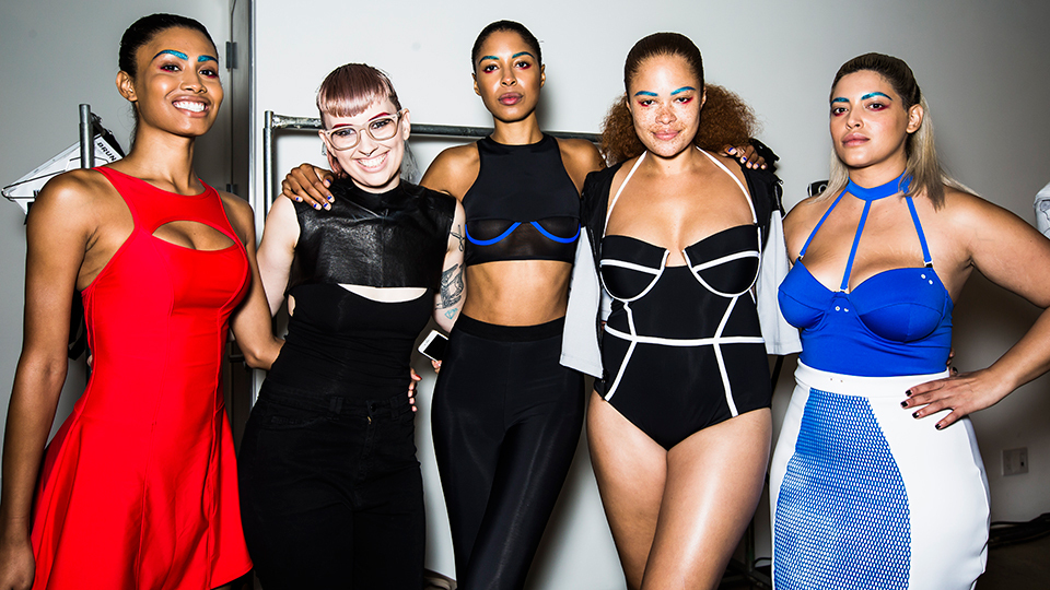 Image result for chromat fashion show