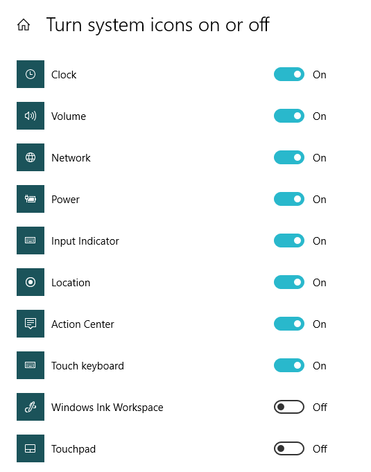 check if network connection icon is enabled or not