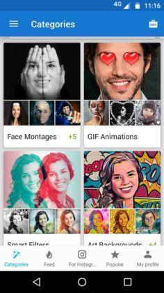 تطبيق Photo Lab لتحرير وتعديل الصور.