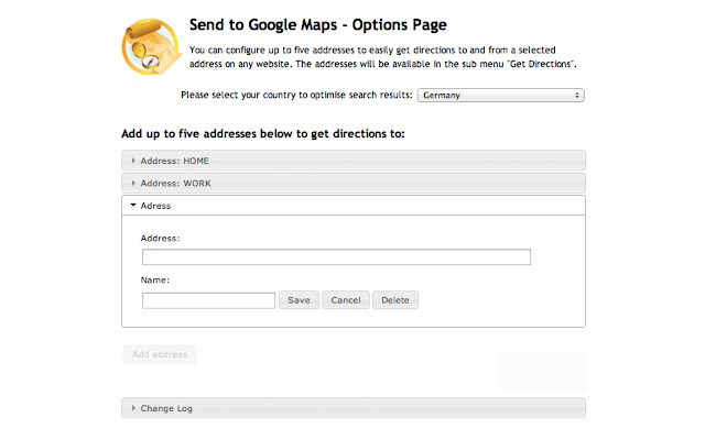 Send to Google Maps Chrome Web Store – Get Directions Maps Google