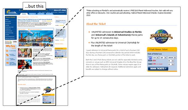 Below the Fold CTA Example