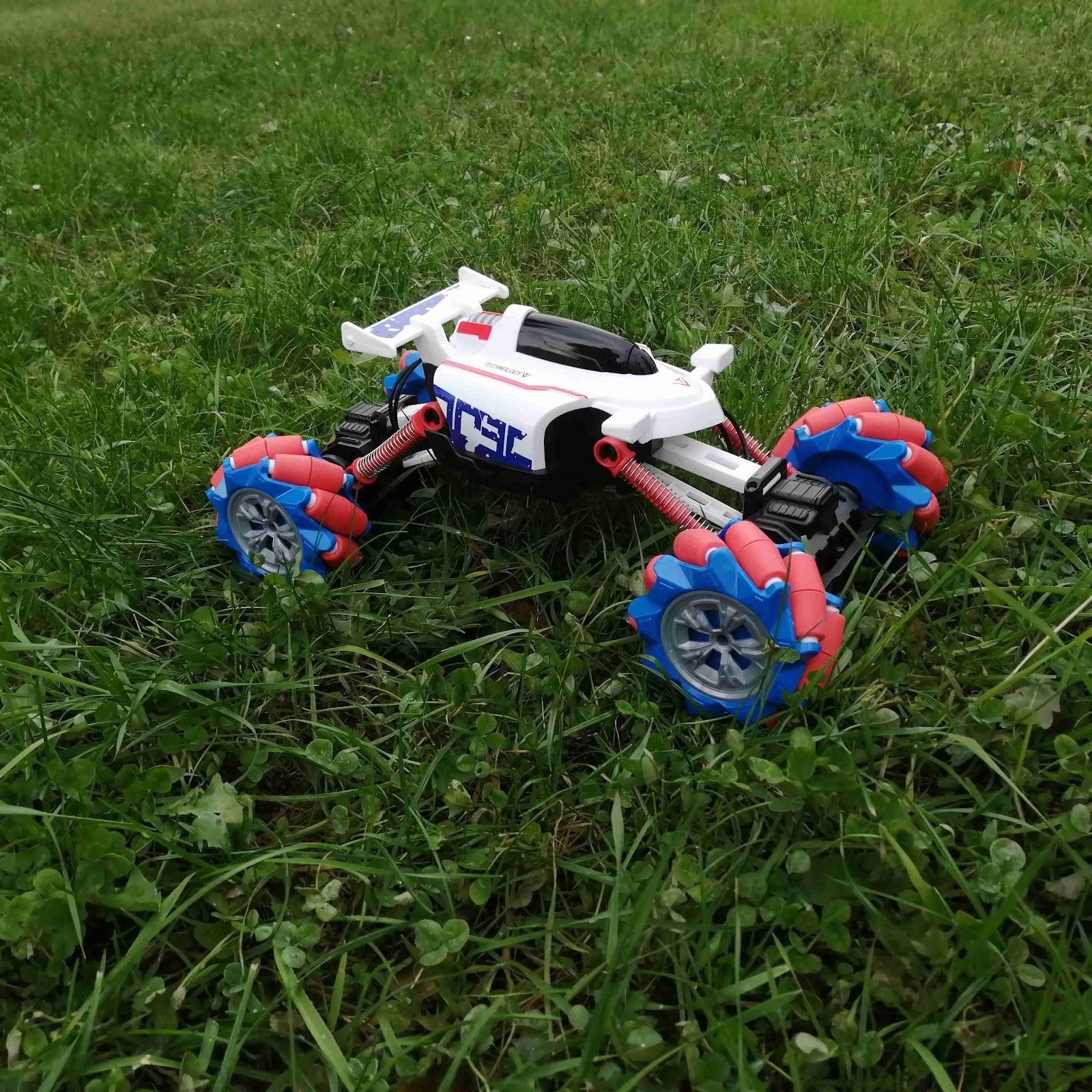 Recenze wikyhračky: auto na dálkové ovládání Moon Rover
