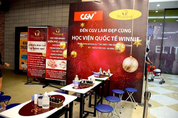 Mọi thứ đã sẵn sàng để phục vụ khách hàng tại CGV Vincom.