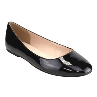 Image result for closed toe black dress flat
