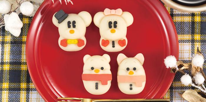 日本, DISNEY, 迪士尼, 期間限定, 和菓子, 食べマス