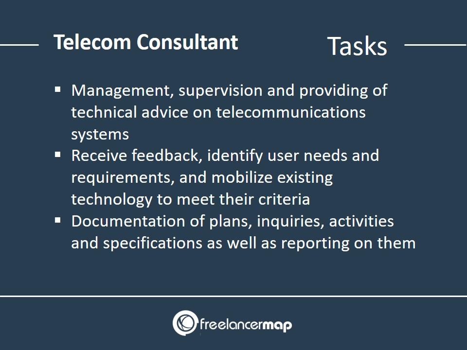 Telecom Consultant - Responsibilities