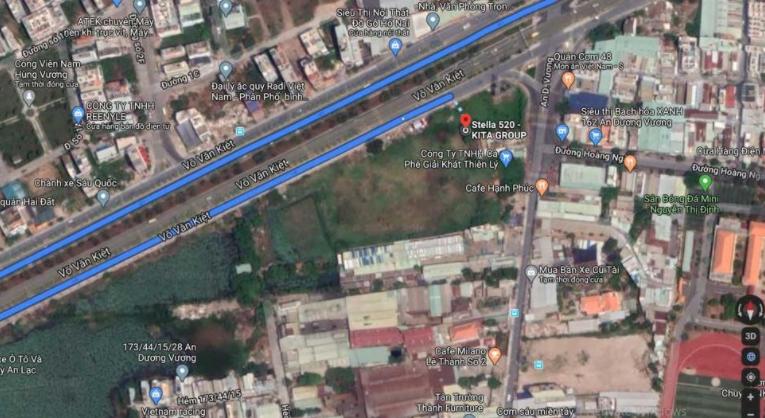 Dự án sở hữu một vị trí đắc địa hàng đầu quận Bình Tân
