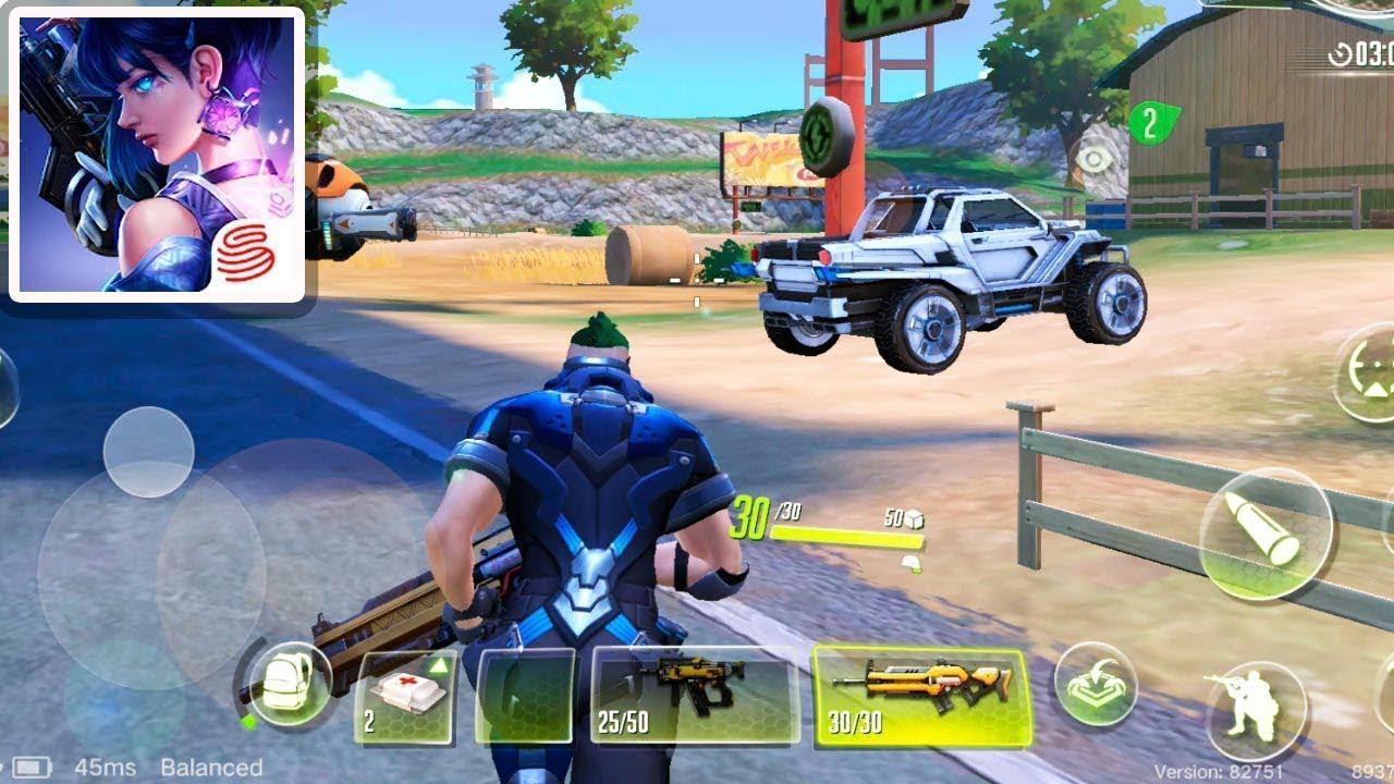 Online Mobile Games - Cyber Hunter