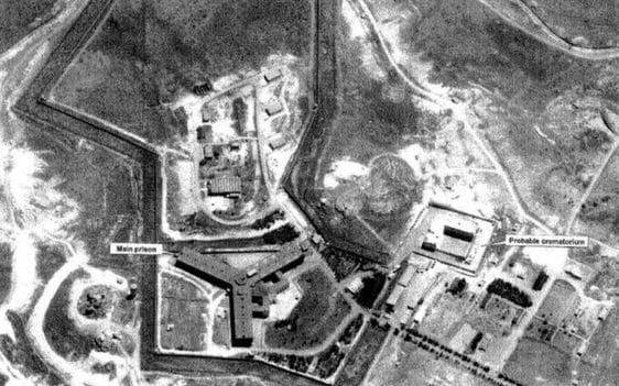 The US state department released satellite images it said backed up reports of mass killings at a crematorium