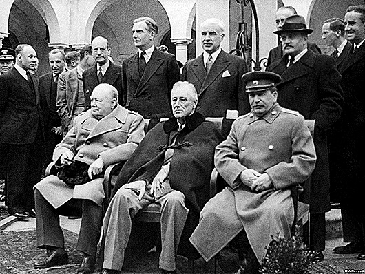 a look at the important historical event of the yalta conference
