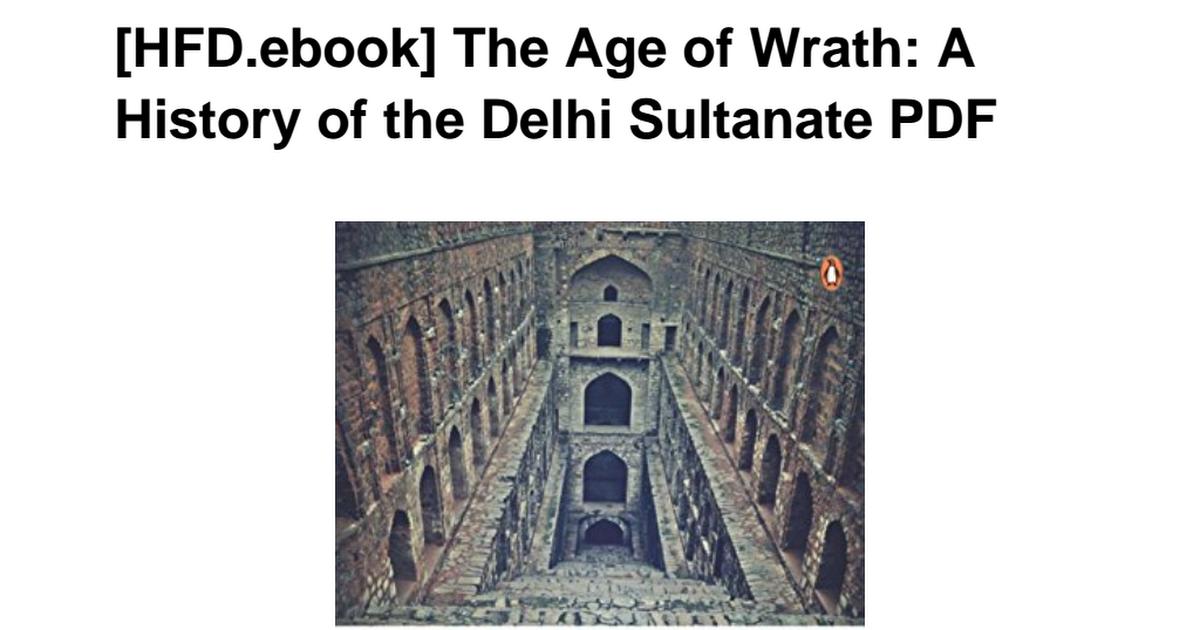 014342226X-Age-Wrath-History-Delhi-Sultanate pdf - Google Drive