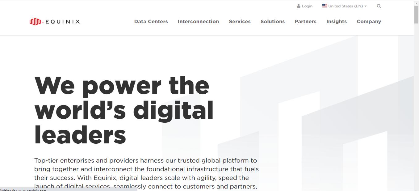 Equinix Data Center provider