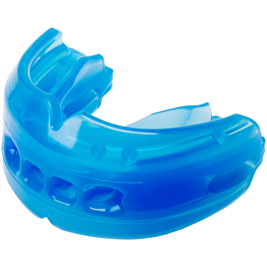 Image result for using a brace mouthguard