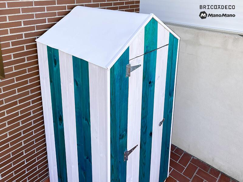 caseta para terraza