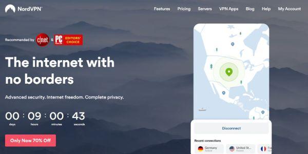 NordVPN Best VPNs for Pandora 600x300