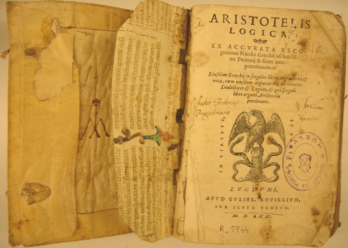 Логика Аристотеля. / Фото:en.academic.ru